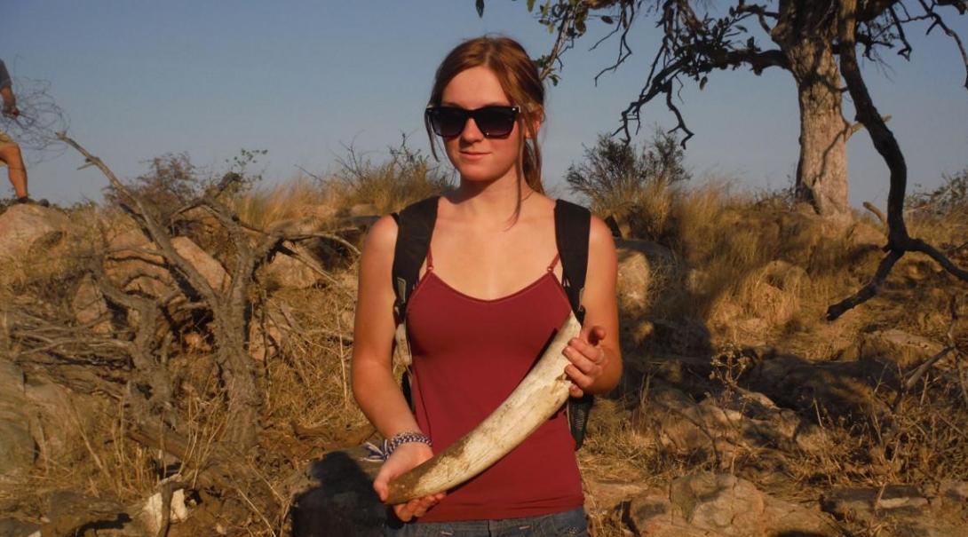 Sally M in Botswana